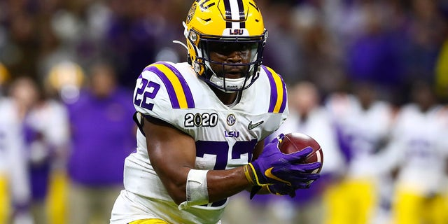 Running back Clyde Edwards-Helaire was the No. 32 overall pick for the Kansas City Chiefs. Mandatory Credit: Matthew Emmons-USA TODAY Sports - 13920212