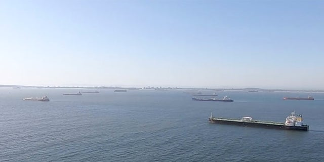The Coast Guard reported finding more than two dozen oil tankers off the coast of Southern California Thursday afternoon.