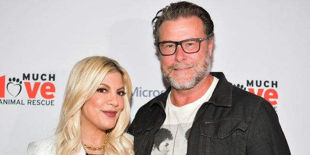 Tori Spelling (left) and Dean McDermot. (Photo by Rodin Eckenroth/Getty Images)