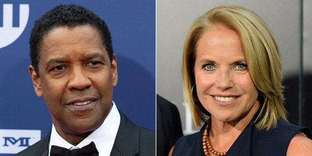Katie Couric is under fire after fans disagree with her statements about a 2004 interview she conducted with Denzel Washington.