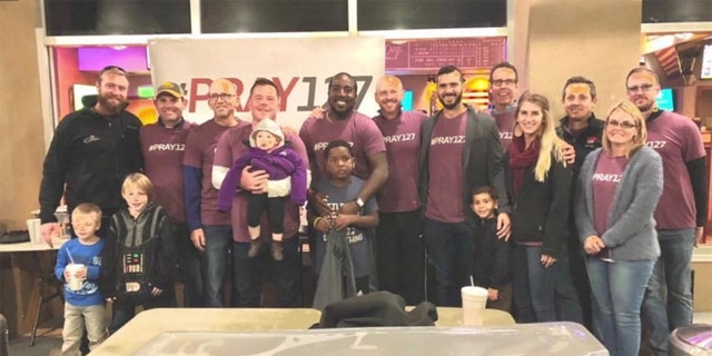 A faith-based Florida group of men is helping out foster families in a special way.
