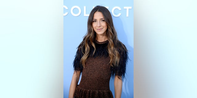 Arielle Charnas at the Michael Kors Collection Spring 2020 Runway Show in September 2020 in Brooklyn City.