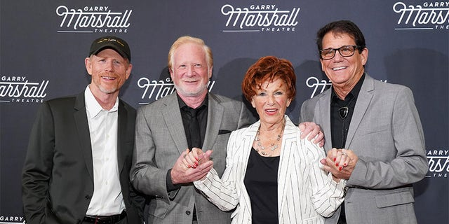 Ron Howard, Don Most, Marion Ross and Anson Williams attend Garry Marshall Theatre's 3rd Annual Founder's Gala Honoring Original 'Happy Days' cast.