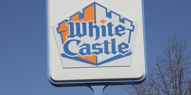 A White Castle store sign is seen on March 26 in Huntington Station, New York. Across the country schools, businesses and places of work have either been shut down or are restricting hours of operation as health officials try to slow the spread of COVID-19.