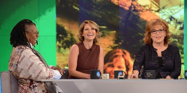 (L-R) Whoopi Goldberg, Candace Cameron Bure, Joy Behar on 'The View.'