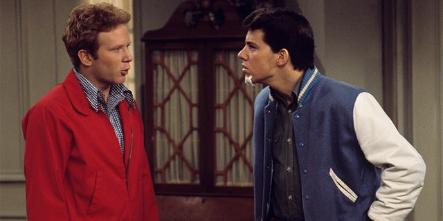 Don Most (left) and Anson Williams starred in 'Happy Days.'