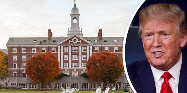 Radcliffe Quad undergrad housing at Harvard University in Fall in Cambridge, Mass., on Nov. 2, 2013.