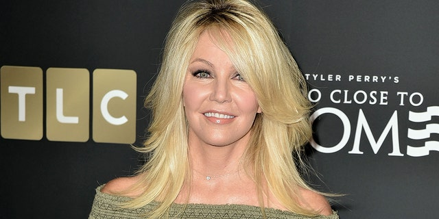 Actress Heather Locklear is engaged to her high school sweetheart.