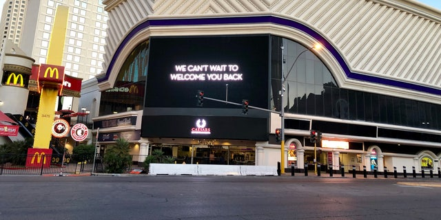 Casinos in Las Vegas are shut down as health officials look to curb the spread of COVID-19.