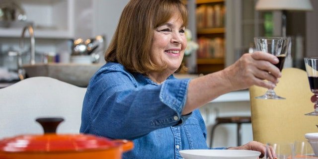 """Ina Garten shared a cocktail recipe with followers on Wednesday morning.""""You never know who's going to stop by… wait a minute, nobody's stopping by,"""
