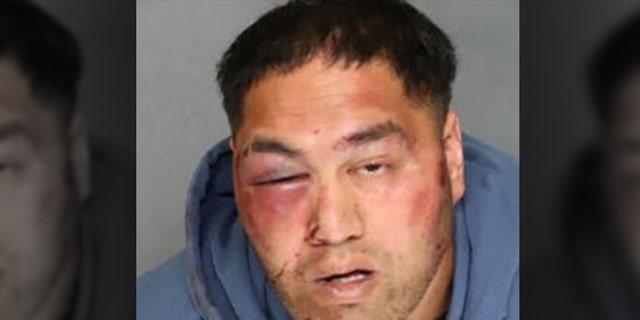 Albert Enoch Johnson, 31, was arrested in California.
