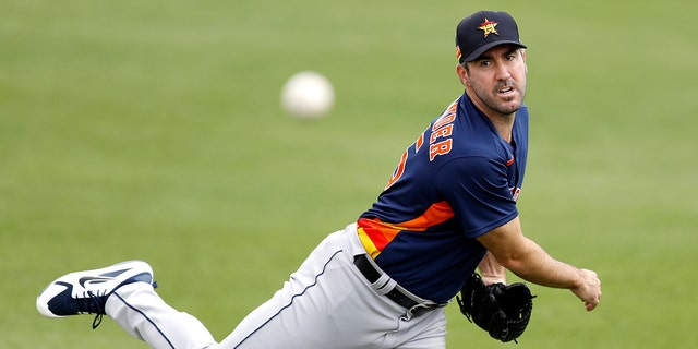 Justin Verlander didn't play in 2020. (AP Photo/Julio Cortez, File)