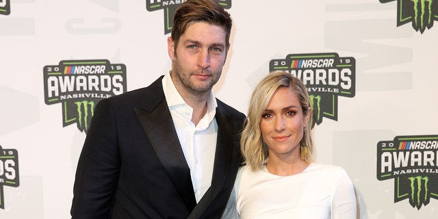 Jay Cutler (left) and Kristin Cavallari (right) are in the process of getting divorced. (Photo by Jared C. Tilton/Getty Images)