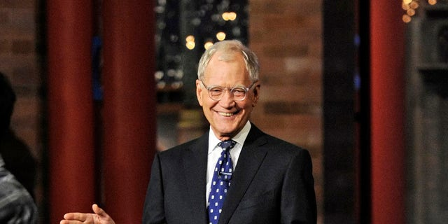 David Letterman. (Jeffrey R. Staab/CBS via AP)