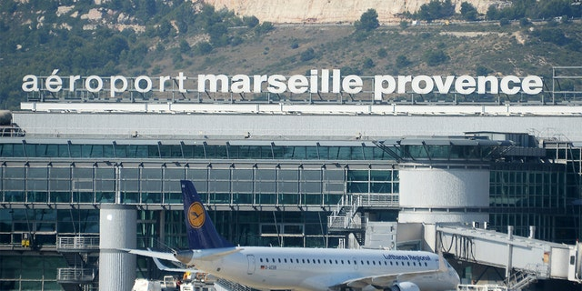 This photo taken on June 30, 2015 shows the Marseille-Provence airport in Marignane.