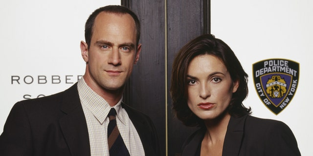 Christopher Meloni and Mariska Hargitay in 'Law & Order: Special Victims Unit.'