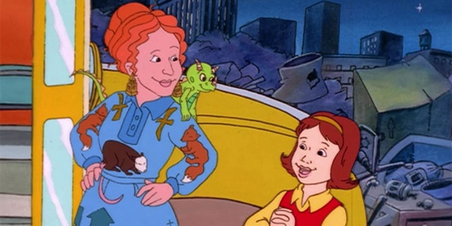 Ms. Frizzle takes her students on incredible adventures in 'The Magic School Bus.'
