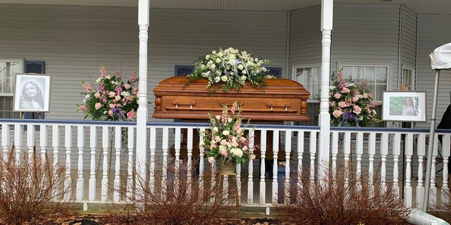 The coronavirus outbreak prompted the Scott family to arrange a unique setup for Linda Scott's funeral visitation this week (Photo provided)