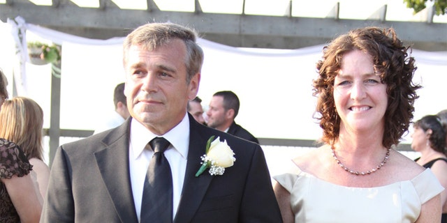Linda Scott and her husband, David Lynn Scott, during the wedding of one of their daughters. The couple was married for 41 years, David R. Scott tells Fox News. (Photo provided)