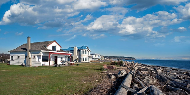 Point Roberts is a tiny town on an out-of-the-way peninsula connected to Canada south of Vancouver. (FILE)