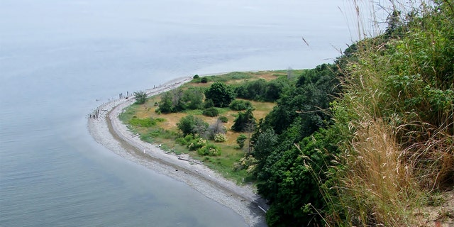 Point Roberts is technically a part of Washington state but not directly connected to the U.S. mainland. (FILE)