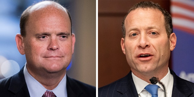 Rep. Tom Reed, R-N.Y., and Rep. Josh Gottheimer, D-N.J. lead the House Problem Solvers Caucus.