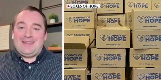 "Chris Morante, the pastor of Evangel Church in Scotch Plains, told 'Fox &amp; Friends First' how he started 'Boxes of Hope.'<br data-cke-eol=""1"">"