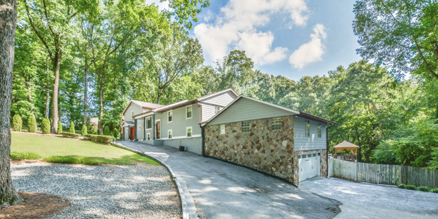 One of Munroe's rental property in Georgia, that currently sits empty.