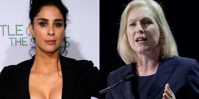 Sarah Silverman called out Kirsten Gillibrand for defending Joe Biden when she didn't defend Al Franken.