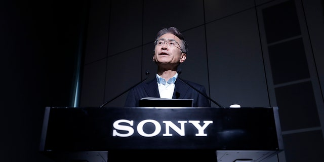 Kenichiro Yoshida, chief executive officer of Sony Corp., sent condolences to the families of those who have lost loved ones due to the coronavirus pandemic while announcing the company's $100 million relief fund.