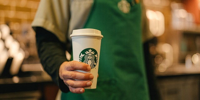 """""""For many of those working long hours caring for those who are sick or in need, a cup of coffee can represent a bright spot in their day and give them a much-needed boost, some say."""" Starbucks wrote in a press release."""