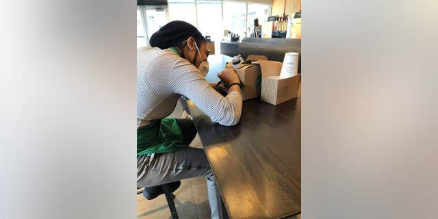 Starbucks claimed it was inspired to launch the promotion after seeing its team members giving back to their community. Some even scribbled encouraging messages, or thank-you notes, on the boxes of coffee.