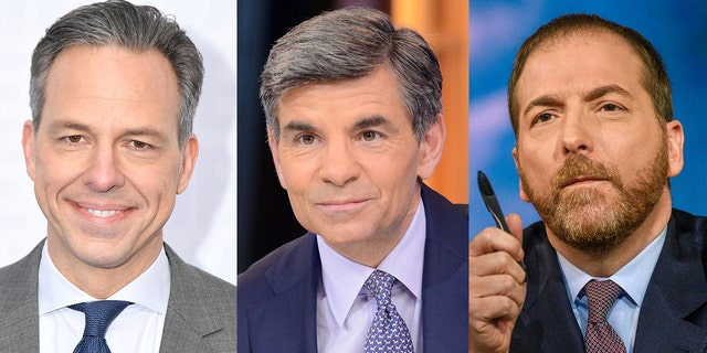CNN's Jake Tapper, ABC's George Stephanopoulos and NBC's Chuck Todd failed to ask Joe Biden's potential running mates about sexual assault allegations against the 2020 Democratic frontrunner.