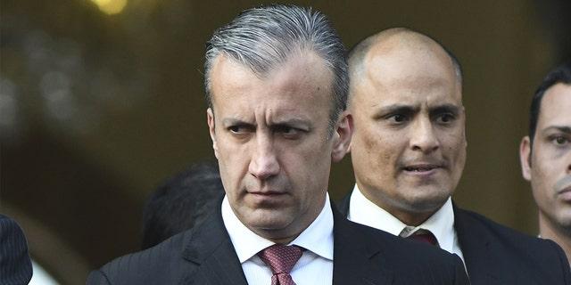Tareck El Aissami. (Carlos Becerra/Bloomberg via Getty Images)