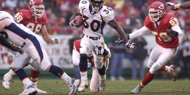 Terrell Davis was a late-round gem. (Elsa/Allsport)