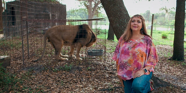 animals Carole Baskin, founder and CEO of Big Cat Rescue.
