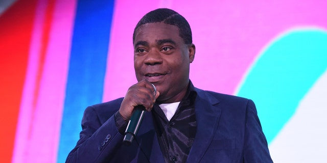 Tracy Morgan accidentally said 'Sal' when announcing 'Soul' as a Golden Globe winner. (Photo by Kevin Mazur/Getty Images for WarnerMedia)