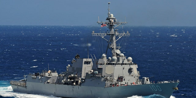 The Arleigh Burke-class guided-missile destroyer USS Kidd is seen underway in the Pacific Ocean in this U.S. Navy picture taken May 18, 2011.
