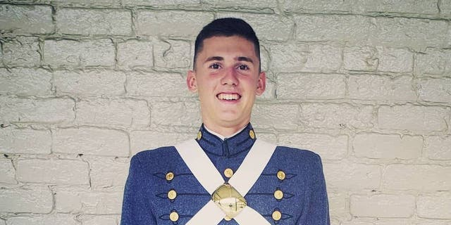 Cadet William Taylor, 18, is expected to graduate in the Class of 2022 from the Virginia Military Institute.