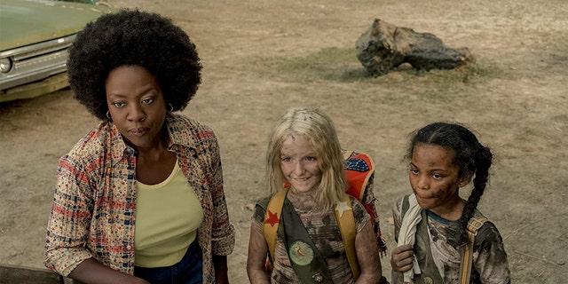 Viola Davis in a scene from 'Troop Zero.'
