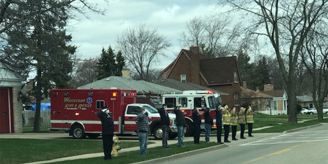 """""""Words cannot express what you have done for the fire service, nor the sacrifices given to others,"""" the Waukegan Fire Department said of Ken Harvey."""