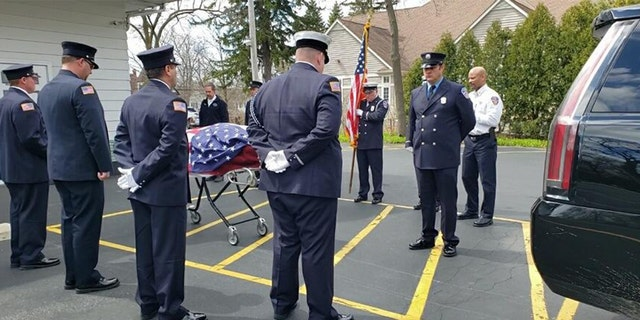 Ken Harvey served in the U.S. Army before joining the Waukegan Fire Department in Illinois.