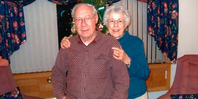 This Nov. 17, 2014 photo shows Wilford and Mary Kepler at their home in Wauwatosa, Wis. (Photo courtesy Michael Kepler via AP)