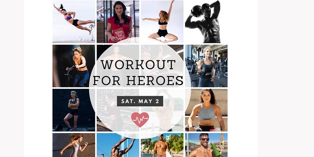 "Saturday is National Fitness Day and the 30 top fitness trainers of New York, including Emily Scott James, a former contestant on So You Think You Can Dance, and Angela Gargano, a three-time competitor on American Ninja Warrior, are hosting a digital fundraiser called ""Workout For Heroes"" to benefit health care workers working on the front line of the coronavirus pandemic. (Workout For Heroes)"