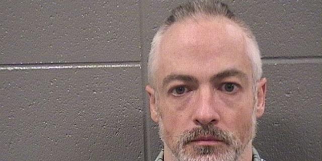Mug shot forWyndham Lathem, a former Northwestern University professor charged with the murder of his boyfriend. (Cook County Jail)