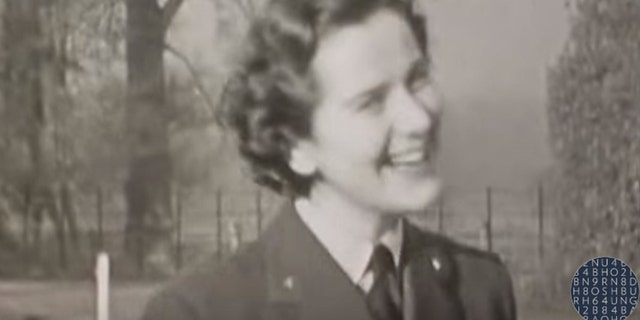 The footage is of men and women at Whaddon Hall in Buckinghamshire, a secret site connected to the famous Bletchley Park code-breaking base.