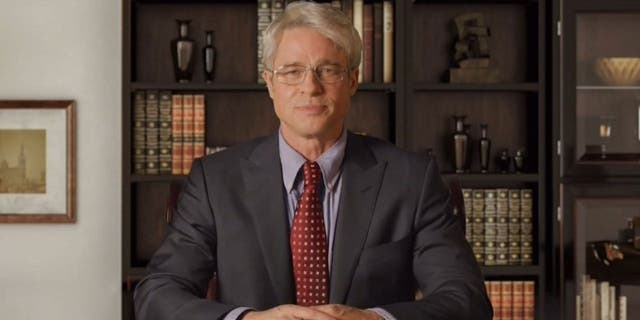 Brad Pitt as Dr. Anthony Fauci on 'Saturday Night Live.'