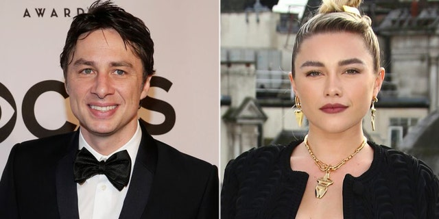 Florence Pugh: People have 'no right' to criticize Zach Braff relationship