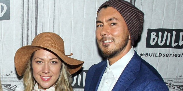 Colbie Caillat and Justin Young.  (Photo by Jim Spellman / Getty Images)