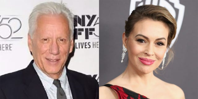 James Woods offered a different perspective Thursday after Alyssa Milano spoke out against a recent spike in U.S. gun sales.